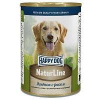 Happy Dog Natur Line консервы для собак Ягненок с рисом