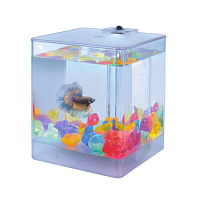 AA-Aquariums АКВАРИУМ Aqua Box Betta (для петушков) 1,3л 12*12*14,5см